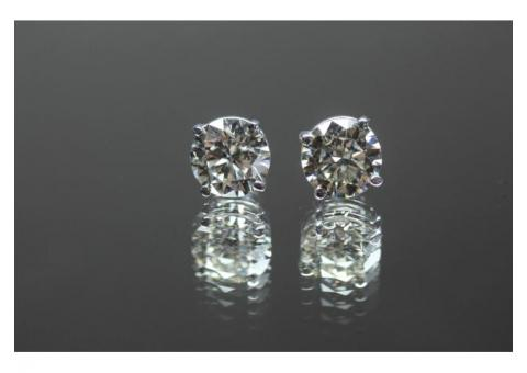 Diamond Earrings 2.01ct. Total Weight
