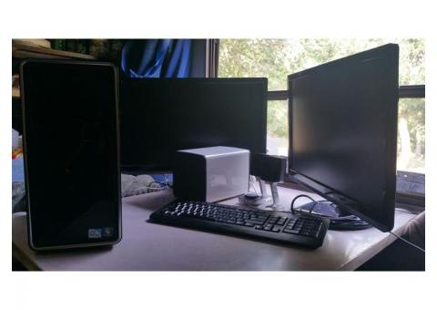 "TWIN 24"" monitors for home, studio, EVENTS!"
